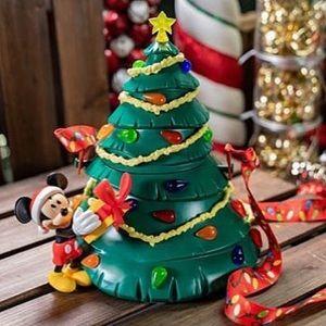 2019 Disney Christmas tree popcorn bucket